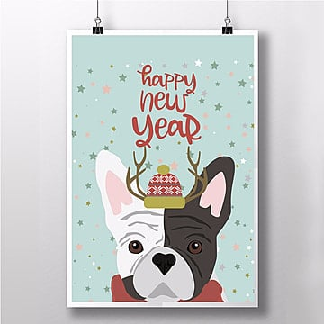 2018  new year poster