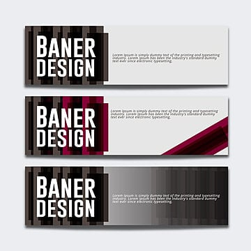 Dark banner with abstract effect