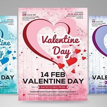 valentin., Heart, Heart Flyer, L'amourPNG et PSD