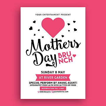 Mothers Day Brunch Template