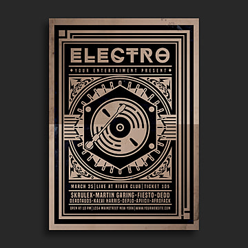 Music Poster Png, Vector, PSD, and Clipart With Transparent