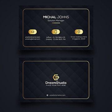 Modelo de cartão de negócios corporativos EPS