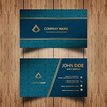 ornamental business card