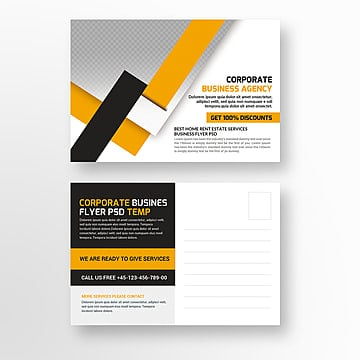Business postcard psd template template for free download on pngtree business postcard template fbccfo Gallery