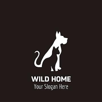 Wild logo with black background