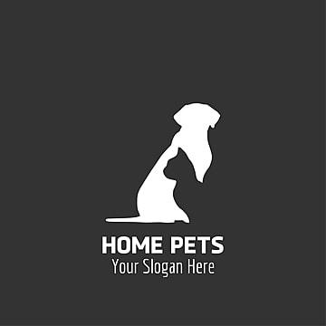 Home pets logo design