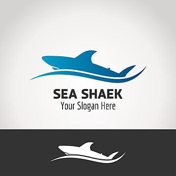 Sea sheak logo design