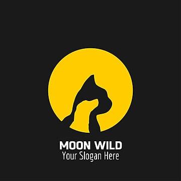 Moon wild logo design