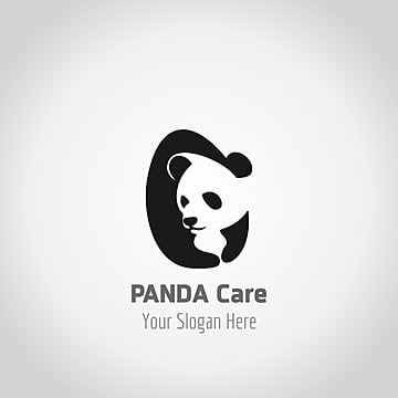 Panda care logo design