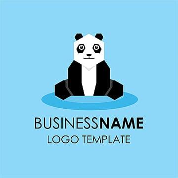 Business logo design panda
