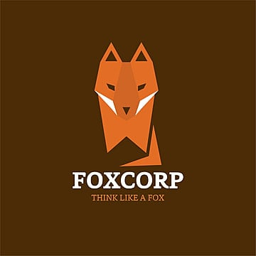 Fox corp logo with dark background
