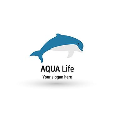 Aqua life logo design