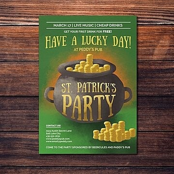 St. Patrick 's Day Flyer