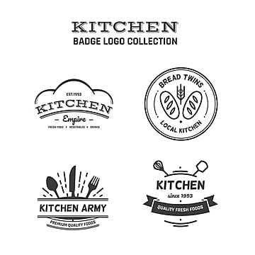 Food Logo Collection, Logo, Kitchen, Cooking PNG and Vector