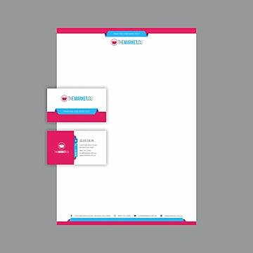 Letterhead design png vectors psd and clipart for free download professional business card and letterhead design layout fully editable vector graphics corporate black spiritdancerdesigns