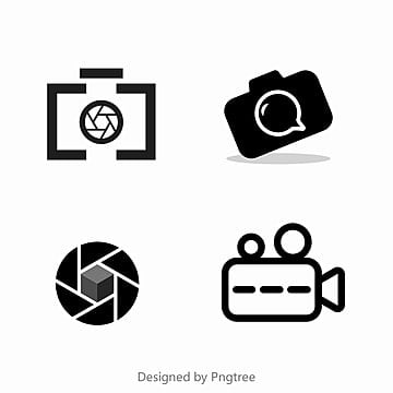 Photo Logo Icon Camera Lens PNG And Vector
