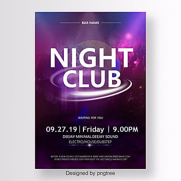 Night Club Poster