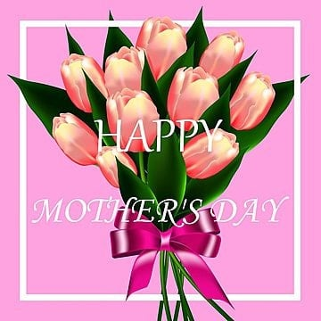 Card or postcard  for International Mothers Day Template illustration image
