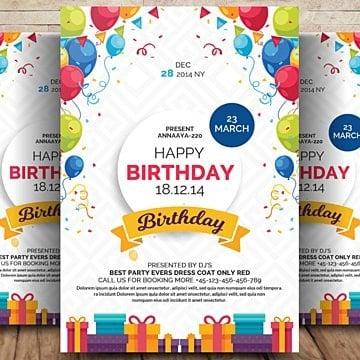 Feliz aniversário., Aniversário, Festa, AniversárioPNG e PSD