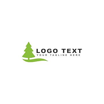 лесные озера логотип Шаблон