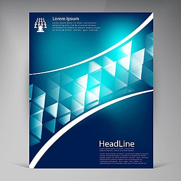 vector abstract brochure design leaflet template