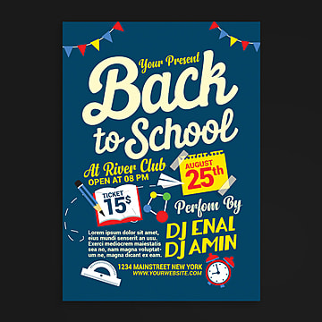Dance School Flyer Template Free Material Dance School Flyer