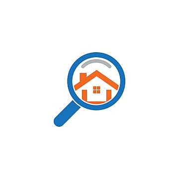 Real Estate House Finder Logo Template Template