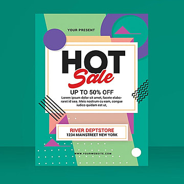 hot sale flyer Template