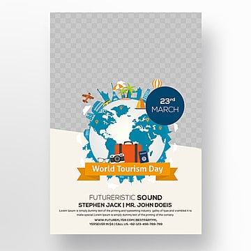 Tour Travel Agency Flyer Template For Free Download On Pngtree - Tourism flyer template