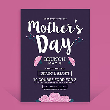 Mothers Day Brunch, Brunch, Celebration, Colourful PNG and PSD