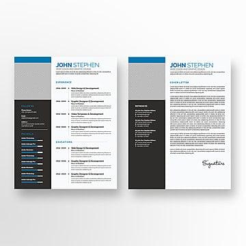 Curriculum Psd 379 Recursos Graficos De Photoshop Para Descarga