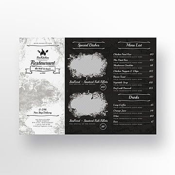 Restaurant Trifold Template