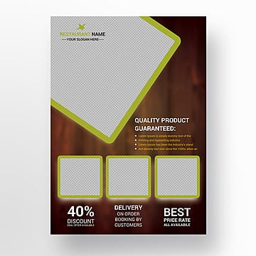 food flyer design Template