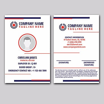 Id Card Png Vector Psd And Clipart With Transparent