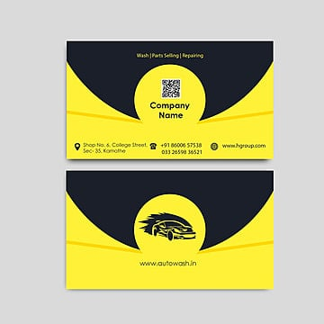 yellow business card design templates 5 design templates for free