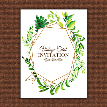 Vintage Invitation Png Vector PSD And Clipart With Transparent
