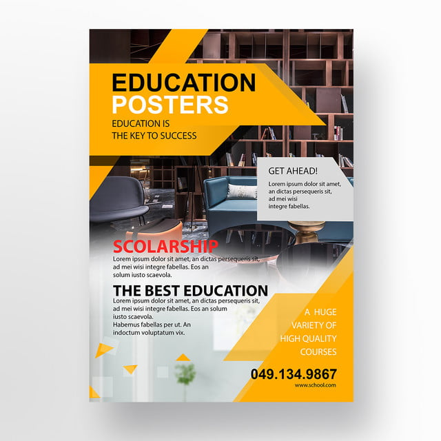 education flyer template template