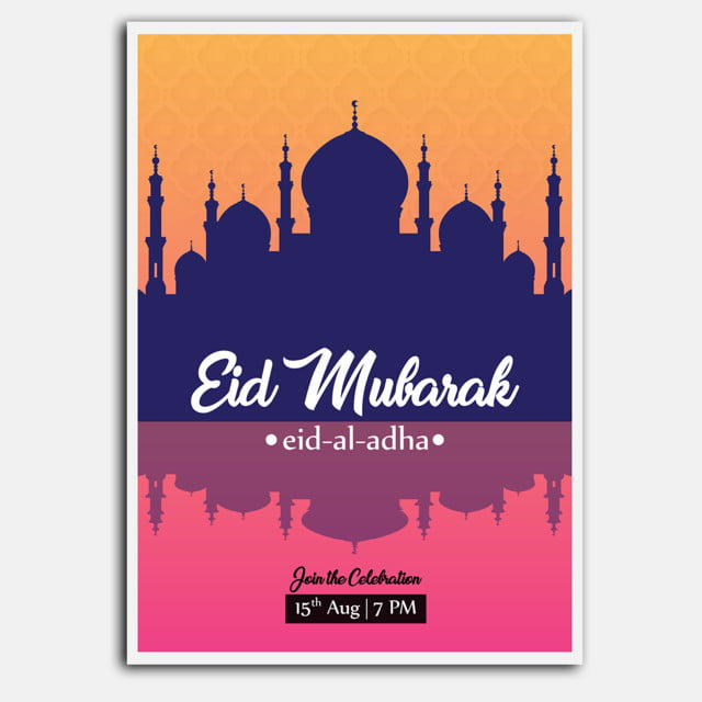 Eid Poster2 Template for Free Download on Pngtree