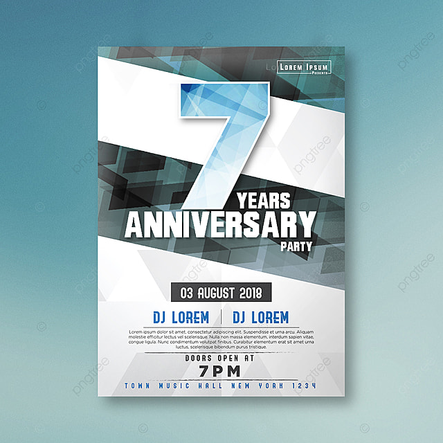 Company anniversary celebrate poster template for free download on company anniversary celebrate poster template maxwellsz
