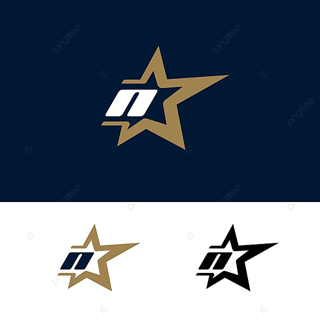 Letter n logo template with star design element vector illustration letter n logo template with star design element vector illustration corporate branding identity template maxwellsz