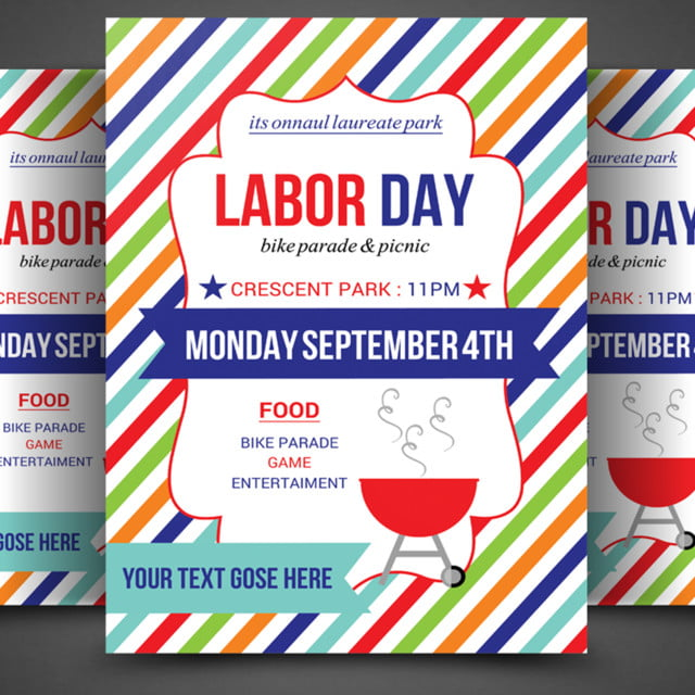 Labor Day Flyer Template Template For Free Download On Pngtree
