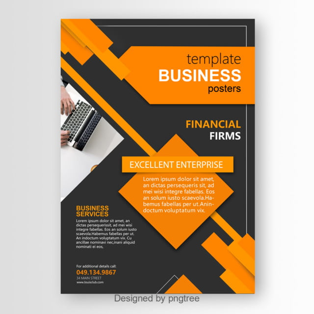 Modern Enterprise Poster Template Template For Free Download On Pngtree