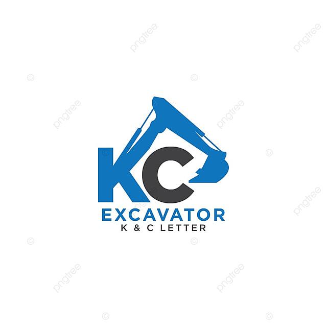 pngtreeにletter k and c initial excavatorテンプレートの無料ダウンロード