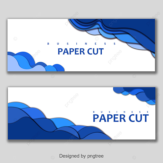 banner with blue wavy art design template for free download on pngtree