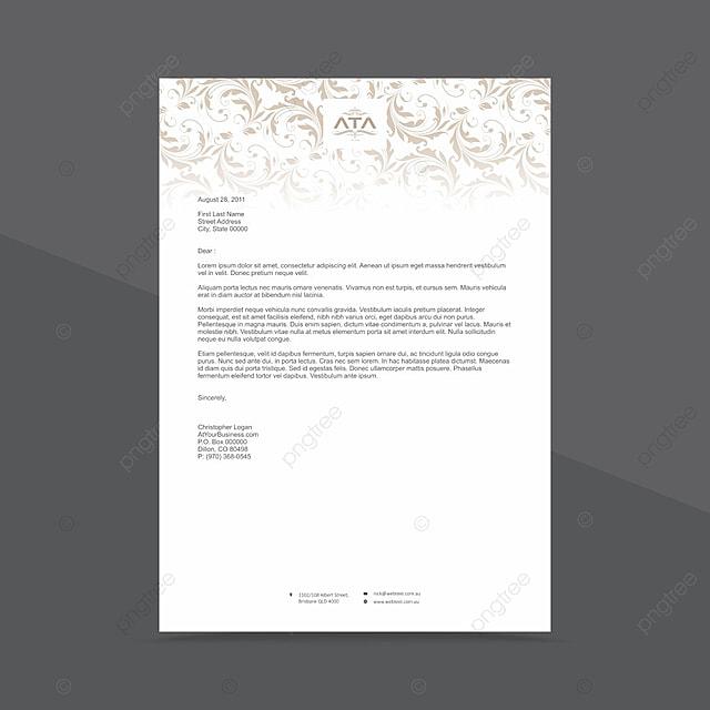 Corporate Business Briefkopf Design Template Vorlage Zum Kostenlosen