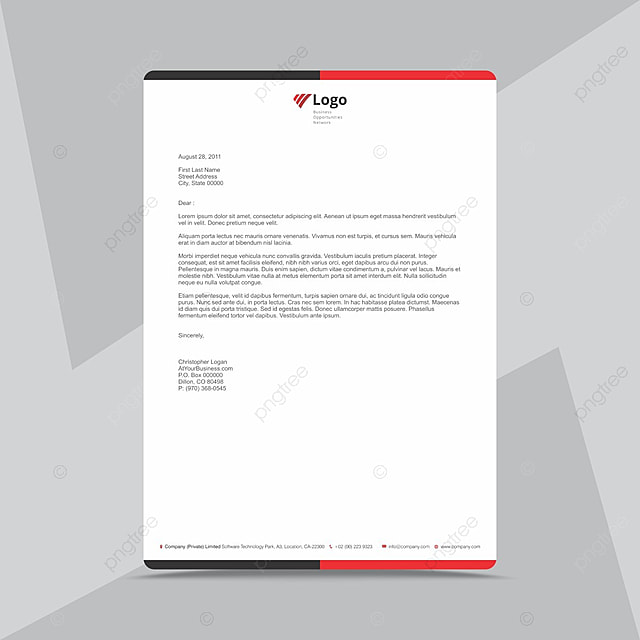 Corporate business letterhead design template template for free corporate business letterhead design template template flashek Choice Image