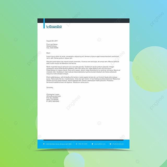 Professional business letterhead design template template for free professional business letterhead design template template accmission Image collections