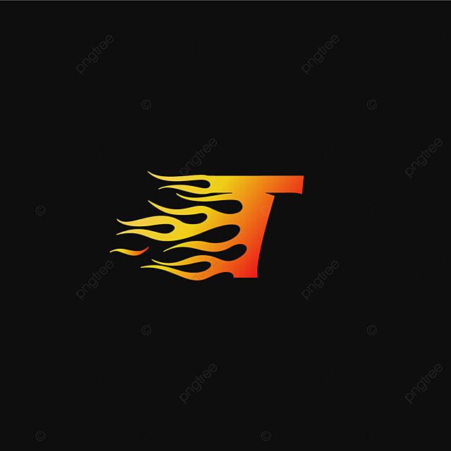 Letter t burning flame logo design template template for free letter t burning flame logo design template template thecheapjerseys Image collections