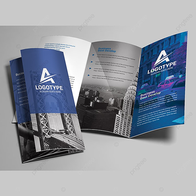 Business Trifold Brochure Template For Free Download On Pngtree