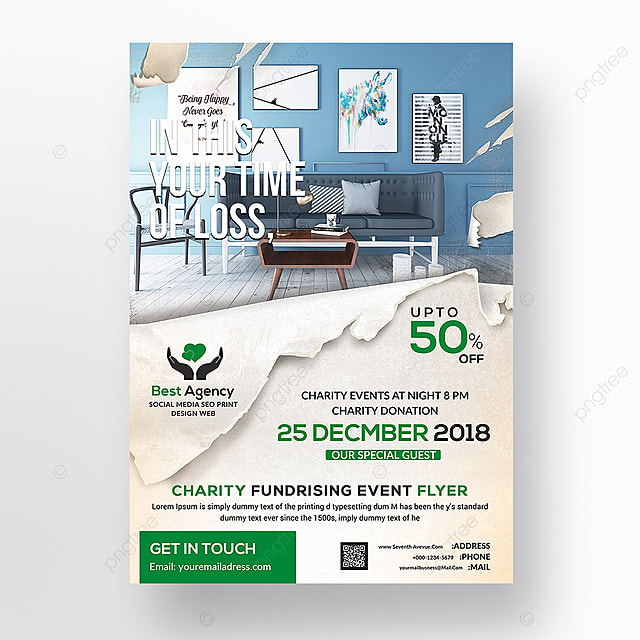 Charity Flyer Templates Template